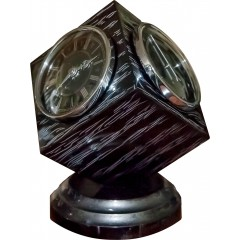 H-05 Black-Silver Desktop Weather Station