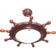 SB-02 Helm Lamp Ceiling on chains