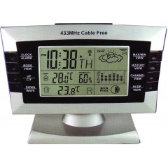 CM-019RD Digital Weather Station with radio sensor